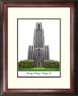 Pittsburgh Panthers Alumnus Framed Lithograph