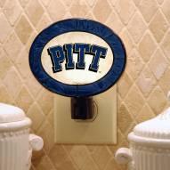 Pittsburgh Panthers Art Glass Night Light