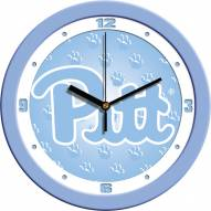 Pittsburgh Panthers Baby Blue Wall Clock