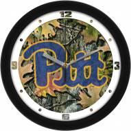 Pittsburgh Panthers Camo Wall Clock