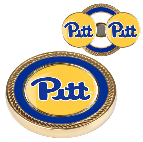Pittsburgh Panthers Challenge Coin with 2 Ball Markers
