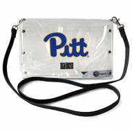 Pittsburgh Panthers Clear Envelope Purse