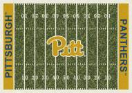 Pittsburgh Panthers College Home Field Area Rug