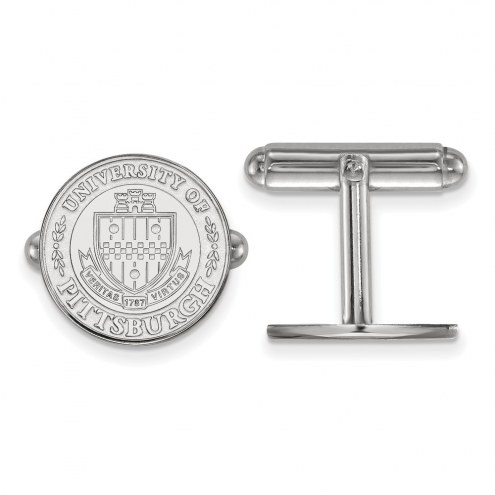 Pittsburgh Panthers Sterling Silver Cuff Links
