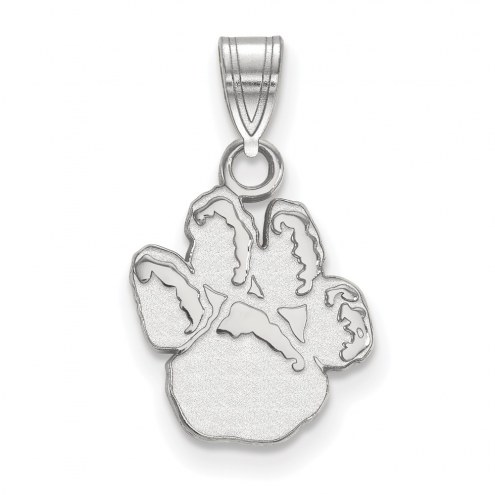 Pittsburgh Panthers Sterling Silver Small Pendant