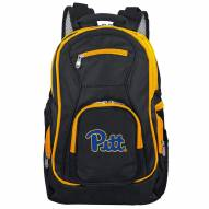NCAA Pittsburgh Panthers Colored Trim Premium Laptop Backpack