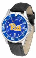 Pittsburgh Panthers Competitor AnoChrome Men's Watch - Color Bezel