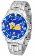 Pittsburgh Panthers Competitor Steel AnoChrome Color Bezel Men's Watch