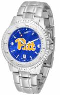 Pittsburgh Panthers Competitor Steel AnoChrome Men's Watch