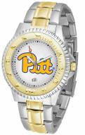 Pittsburgh Panthers Competitor Two-Tone Men's Watch
