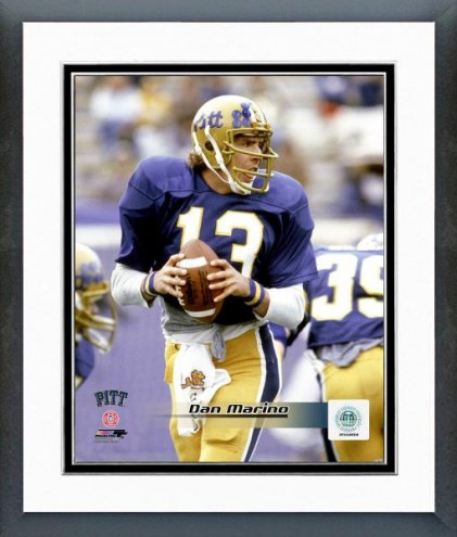Pittsburgh Panthers Dan Marino Action Framed Photo