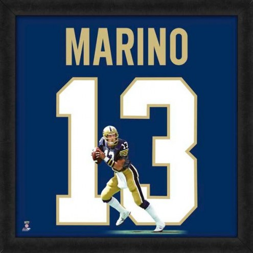 Pittsburgh Panthers Dan Marino Uniframe Framed Jersey Photo
