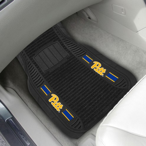Pittsburgh Panthers Deluxe Car Floor Mat Set
