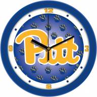 Pittsburgh Panthers Dimension Wall Clock