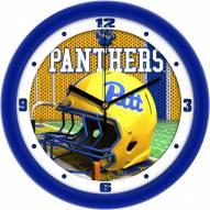 Pittsburgh Panthers Football Helmet Wall Clock