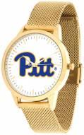 Pittsburgh Panthers Gold Mesh Statement Watch