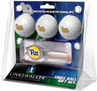 Pittsburgh Panthers Golf Ball Gift Pack with Kool Tool