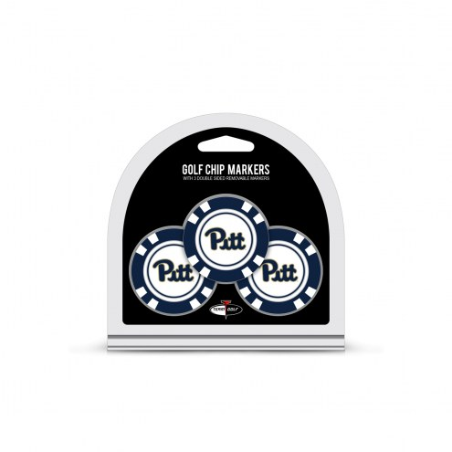 Pittsburgh Panthers Golf Chip Ball Markers