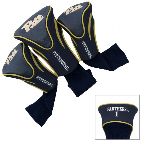 Pittsburgh Panthers Golf Headcovers - 3 Pack