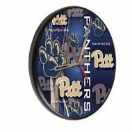 Pittsburgh Panthers Digitally Printed Wood Clock