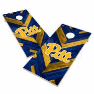 Pittsburgh Panthers Herringbone Cornhole Game Set