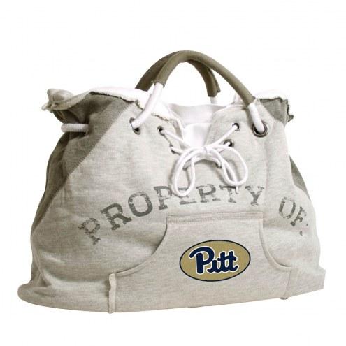 Pittsburgh Panthers Hoodie Tote Bag