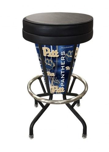 Pittsburgh Panthers Indoor Lighted Bar Stool