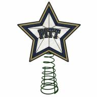 Pittsburgh Panthers Light Up Art Glass Tree Topper
