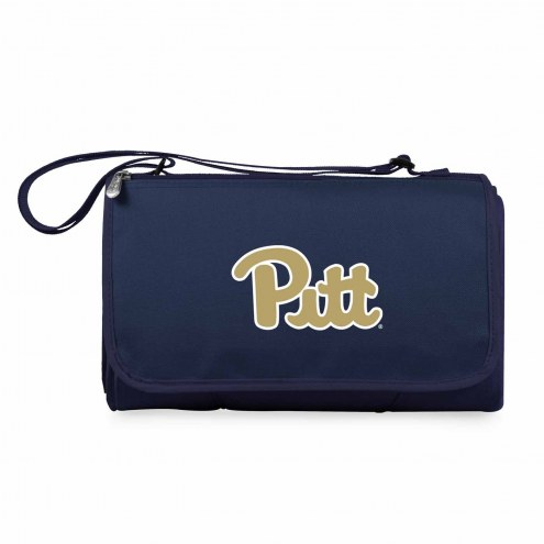 Pittsburgh Panthers Navy Blanket Tote