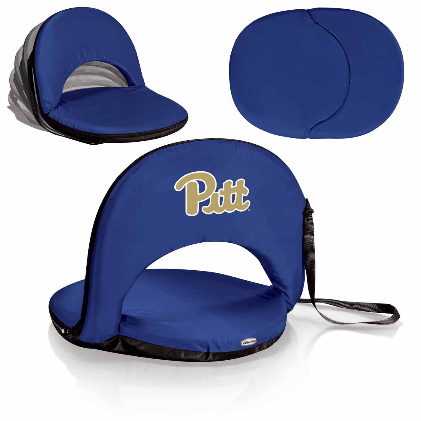 Pittsburgh Panthers Navy Oniva Beach Chair