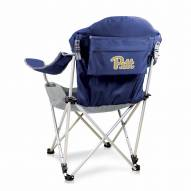 Pittsburgh Panthers Navy Reclining Camp Chair