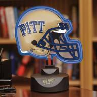 Pittsburgh Panthers Neon Helmet Desk Lamp