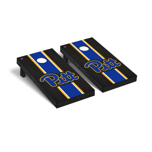 Pittsburgh Panthers Onyx Stained Cornhole Game Set