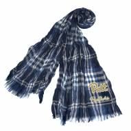 Pittsburgh Panthers Plaid Crinkle Scarf