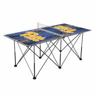 Pittsburgh Panthers Pop Up 6' Ping Pong Table