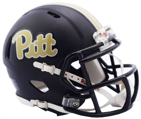 Pittsburgh Panthers Riddell Speed Mini Collectible Matte Football Helmet