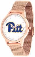 Pittsburgh Panthers Rose Mesh Statement Watch