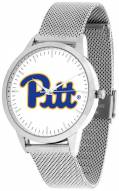 Pittsburgh Panthers Silver Mesh Statement Watch