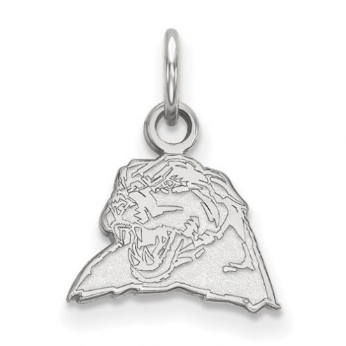 Pittsburgh Panthers Sterling Silver Extra Small Pendant