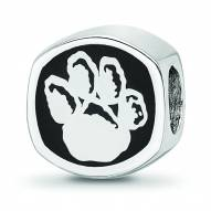 Pittsburgh Panthers Sterling Silver Logo Bead