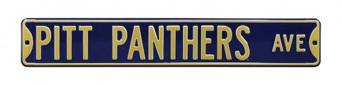 Pittsburgh Panthers Street Sign