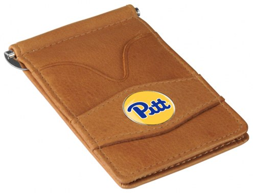 Pittsburgh Panthers Tan Player's Wallet