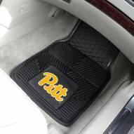Pittsburgh Panthers Vinyl 2-Piece Car Floor Mats