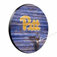 Pittsburgh Panthers Weathered Design Hook & Ring Game