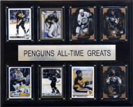 """Pittsburgh Penguins 12"""" x 15"""" All-Time Greats Plaque"""