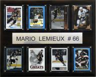 "Pittsburgh Penguins 12"" x 15"" Mario Lemieux 8 Card Plaque"