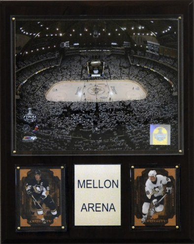 "Pittsburgh Penguins 12"" x 15"" Mellon Arena Plaque"