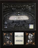 "Pittsburgh Penguins 12"" x 15"" Mellon Arena Plaque"