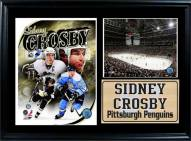 "Pittsburgh Penguins 12"" x 18"" Sidney Crosby Photo Stat Frame"