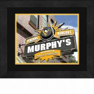 Pittsburgh Penguins 13 x 16 Personalized Framed Sports Pub Print
